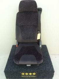 Scania 4 serie stoel lage rug grijs paars