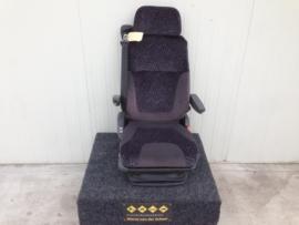luchtgeveerde Scania 4 serie bijrijdersstoel paars