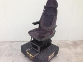 Scania 4 serie paars vaste stoel