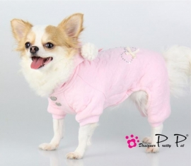 Pretty Pet Baby Jumpsuit Roze