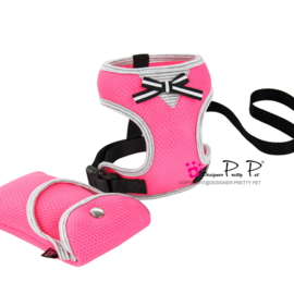 Pretty Pet Sprot mesh Roze harnas