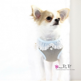 Pretty Pet Baby Mesh Blauw harnas