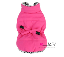 Pretty Pet Drawstring Waist Roze
