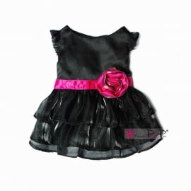 Pretty Pet Fancy Rose dress Zwart