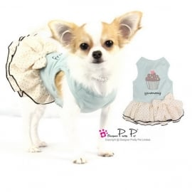 Pretty Pet yummy dress blauw