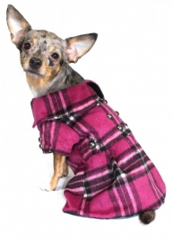 Pink Plaid dress Jas