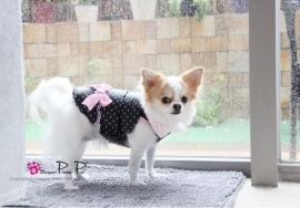 Pretty Pet Love me Coat Zwart