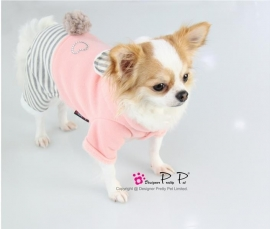 Pretty Pet Bear Jumpsuit Roze