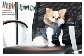 Pretty Pet denim sport