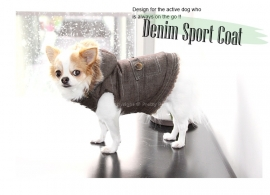 Pretty Pet denim sport coffee