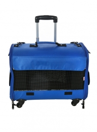 Blauw trolley carrier Large