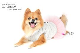 Pretty Pet Happy jurk jas grijs