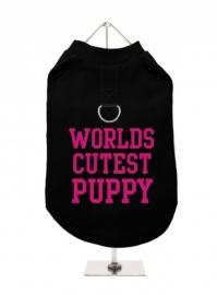 Harnas T-Shirt World`s Cutist puppy