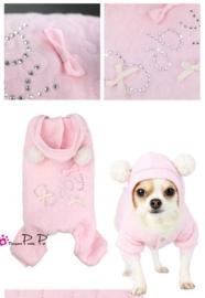 Pretty Pet Baby Jumpsuit Roze