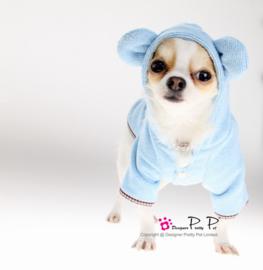 Pretty pet Bunny Badjas Blauw