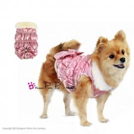 Pretty Pet Diamon Bow jas Roze