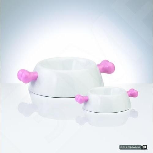 Bellomania porselein voerbak cotton candy