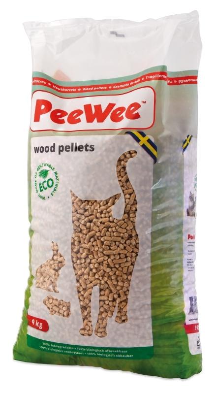 Peewee Houtkorrels 9kg