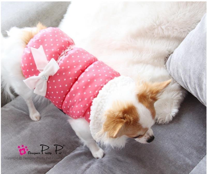 Pretty Pet Love me Coat Roze