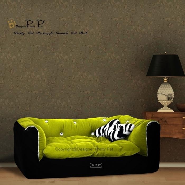 Pretty Pet Rectangle Hondenbank Groen
