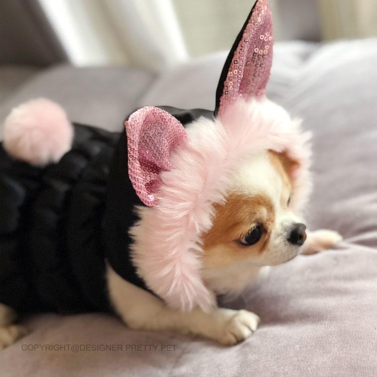 Pretty Pet Party Bunny Zwart