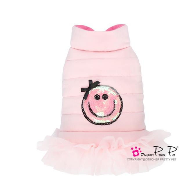 Pretty Pet Happy jurk jas roze