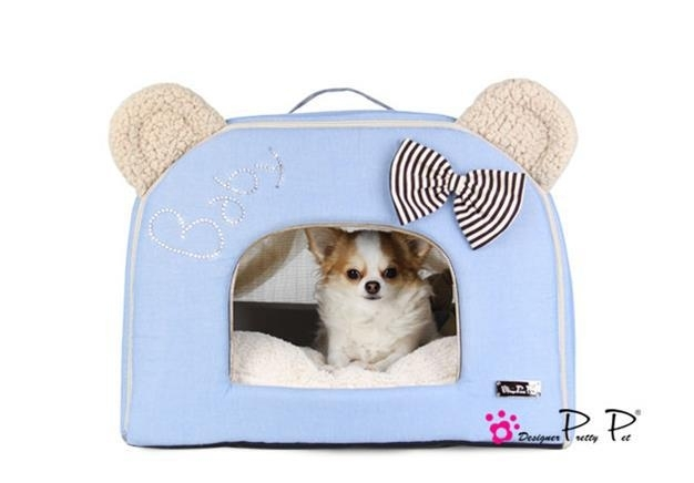 Pretty Pet Bear House Blauw