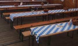 Tafel loper Oktoberfest Dena 240 x 40 cm