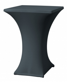 Statafelhoes Rumba 80x80 cm Antraciet Dena 137