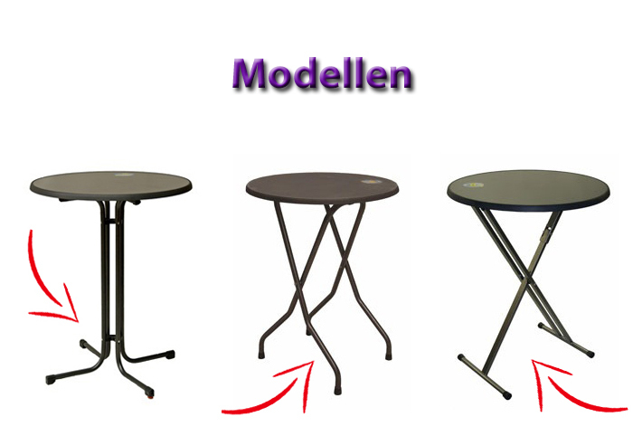 Modellen Statafelhoes Samba Dena