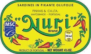 Sardines in Pikante Olijfolie