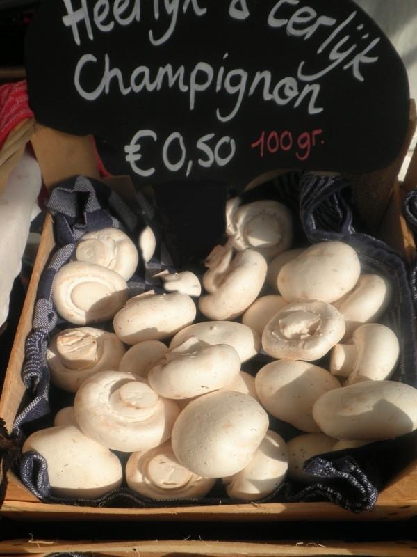 Witte Champignon - Bio 100 gram