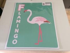 Flamingo 50x60cm