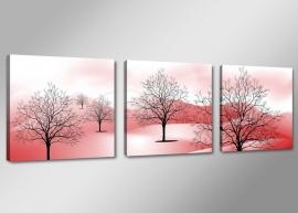Abstract Bomen Bergen