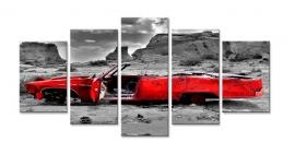 Rode Cabrio Oldtimer