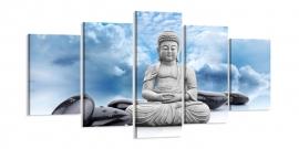 Buddha Blauwe Lucht