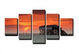 Strandtent Sunset
