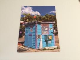 Cuba Parkeerplaats huisje
