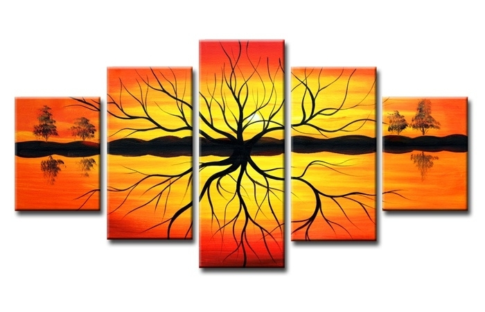 Abstract Bomen