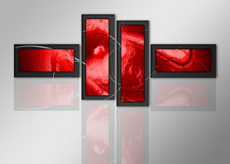Abstract Rode Art