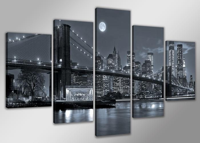 USA New York Zwart Wit