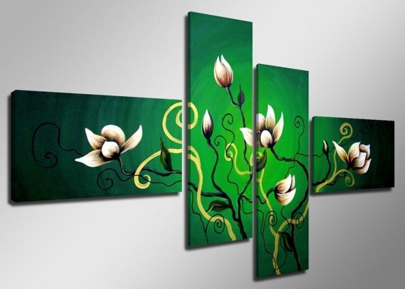 Groen met Bloemen