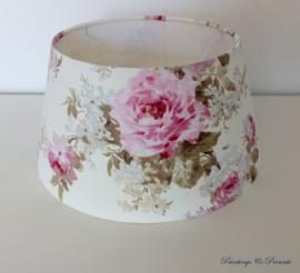 Lampenkap `English Rose` 35 x 17,5 x 25 cm