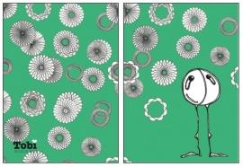 Zomaar Tobi Spirograph - Groen