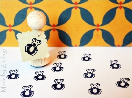 Mini Stempel - Teddybeer