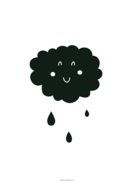 POSTER A4 CLOUD RAIN