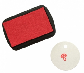 Ink Pad Big - Red Scarlet