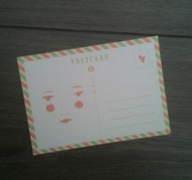 Postkaart Lucky Lucie