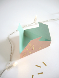 Gift Box Template - Triangle