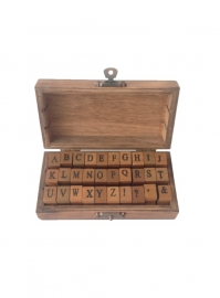 Stamp Box ABC Uppercase